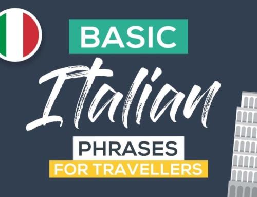 Italian Language Basics